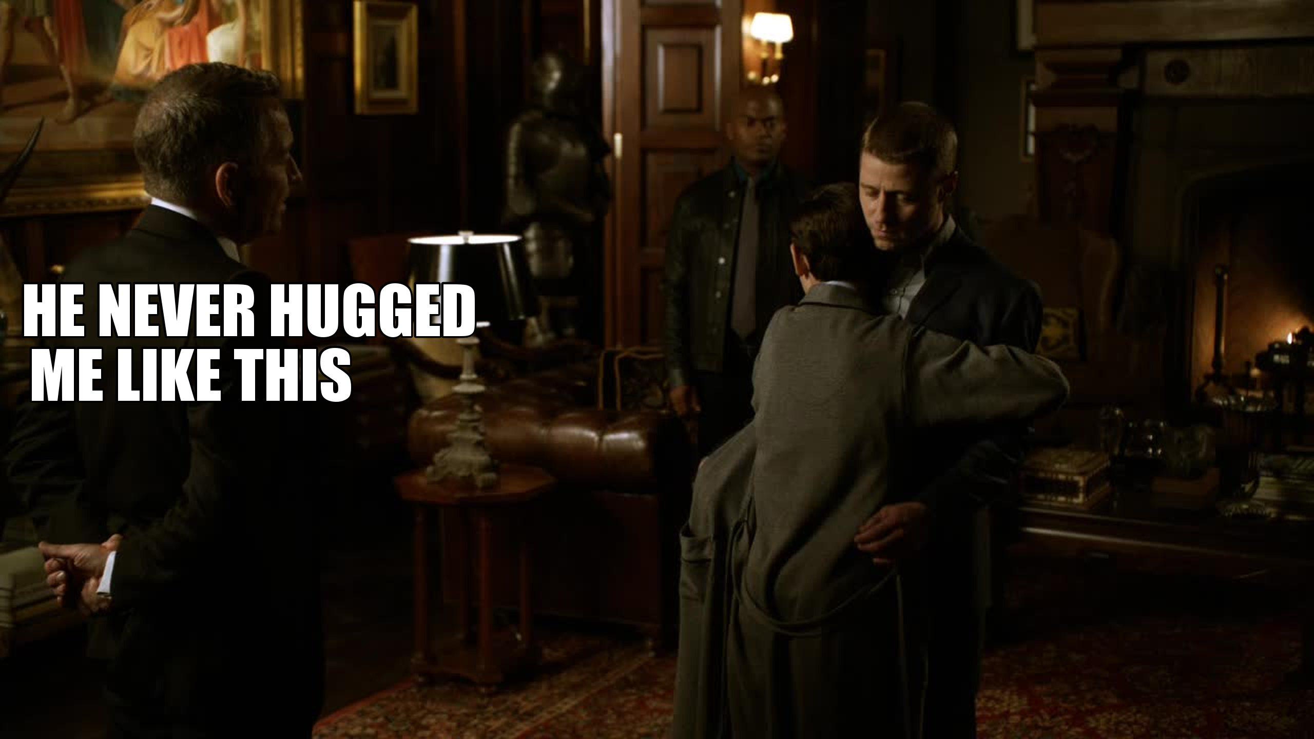 Poor Alfred! :( hahaha