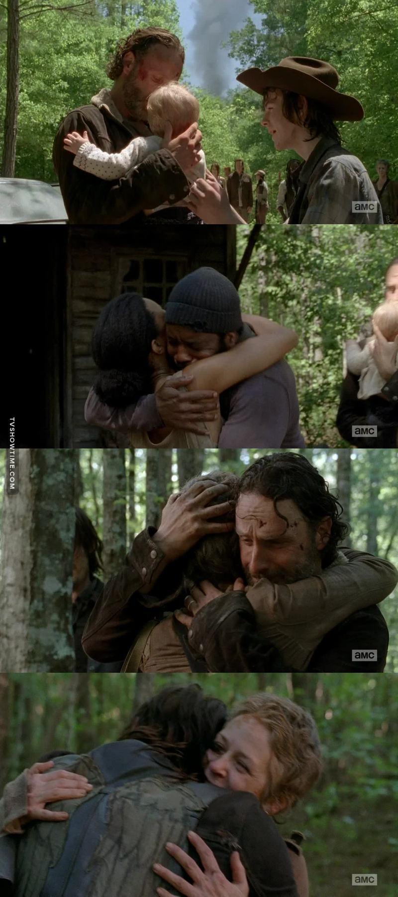 Les retrouvailles dans cet épisode m'ont donné des frissons. Elles font parties des meilleurs moments de la série. ❤️