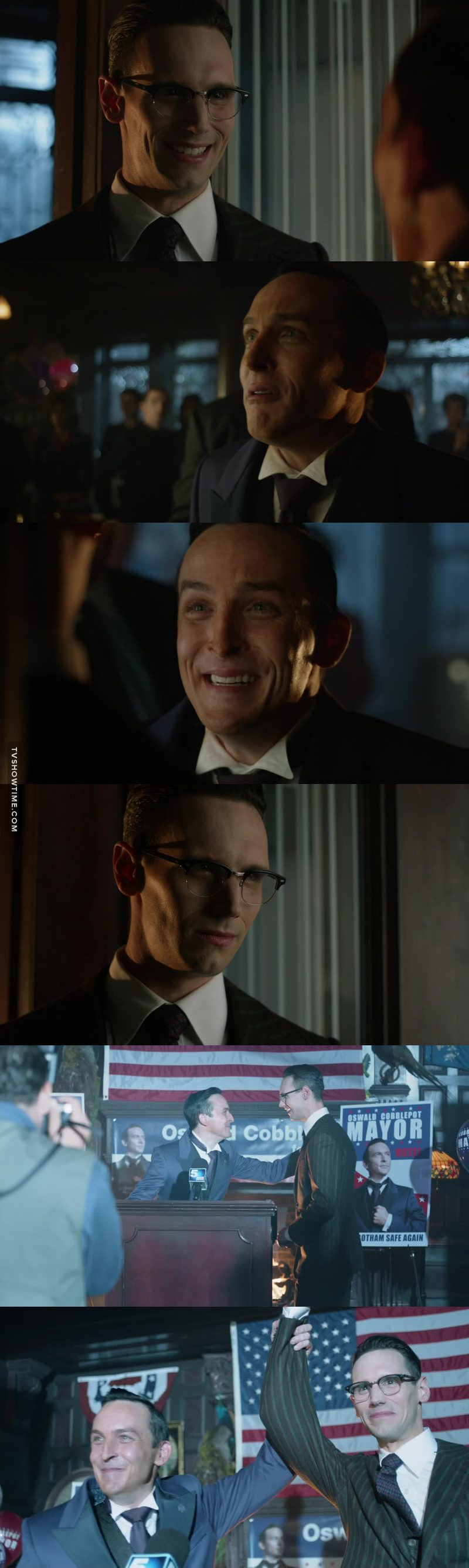 Nygma and Penguin's bromance is the epitome of bromances!