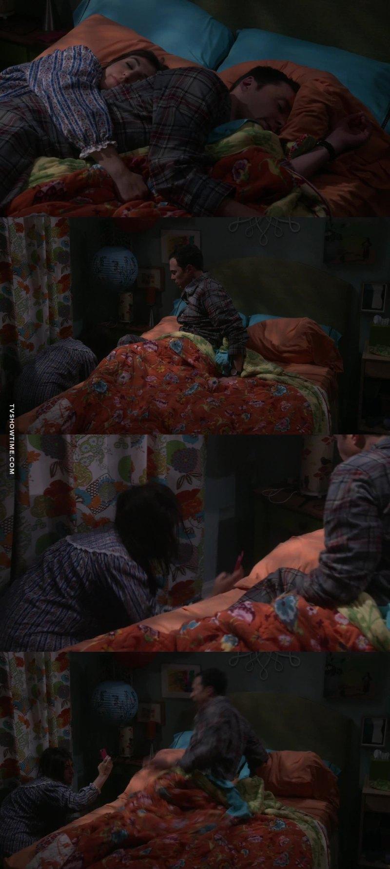 Geez Sheldon! That scream tho 📸😂