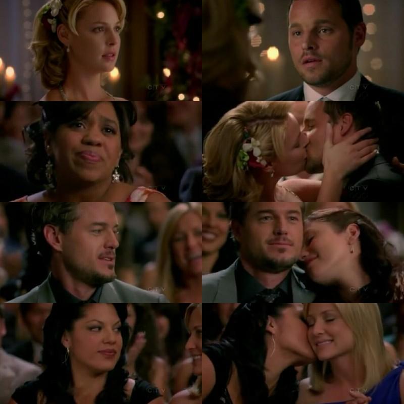 eu nunca vou superar o alex e a izzie nessa cena do casamento :'(