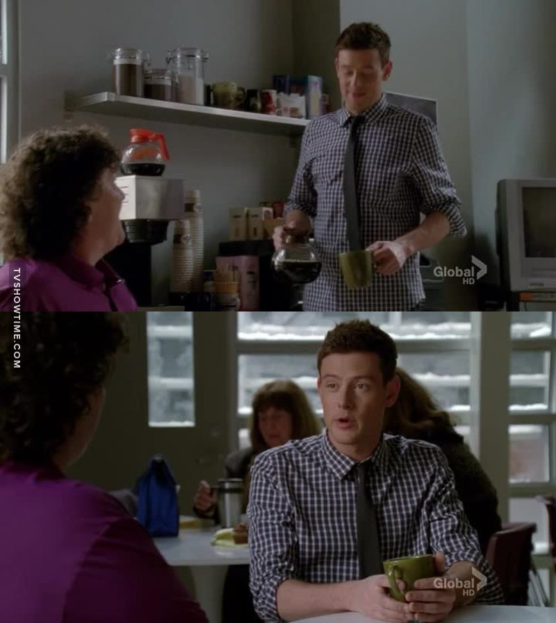 """omg he really looks like Mr William """"Will"""" Schuester"""