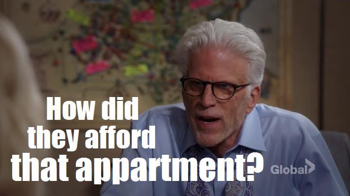 Well, to quote Chandler, 'because of rent control, it was a frigging steal.' 😜