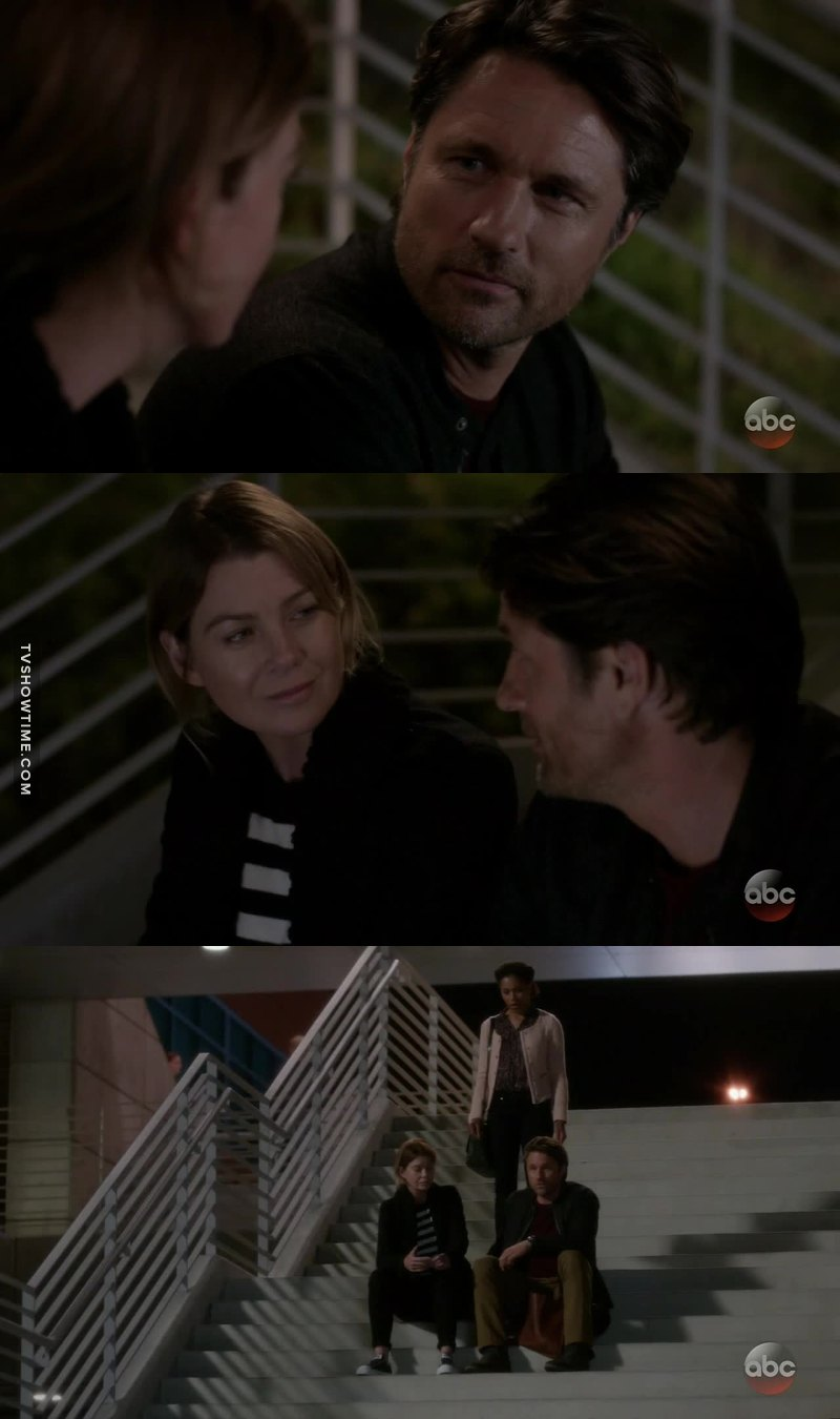 Maggie will you please stop ruining every scene Mer and Riggs have???