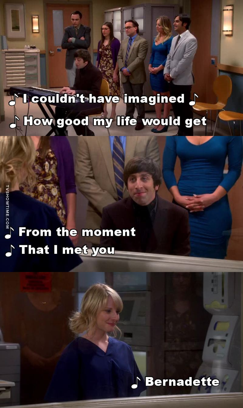 Ohhh Howard made me cry in this episode ❤