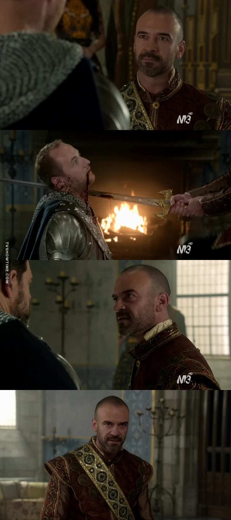Henry was amazing this episode, great acting. I thought this scene was so badass, but overall he was great!