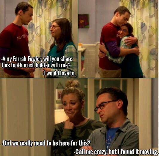 Big step for Sheldon! 😂