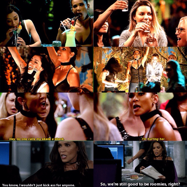 """honestly, what an iconic Lucifer episode  Boys nightGirls nightDrunk AmenadielDouche Cam A bar fightChloe flanked by Maze: """"NOBODY CALLS MY SKANK A SKANK"""" and Linda calling someone a bitch Maze kicking so much ass""""I don't look like a cop!""""AND NOW CHLOE AND MAZE ARE GONNA BE ROOMMATES I CANNOT  I'm so here for all of it  LIKE WTH I AM IN AWE BLESS THE WRITERS FOR GIVING US THIS"""
