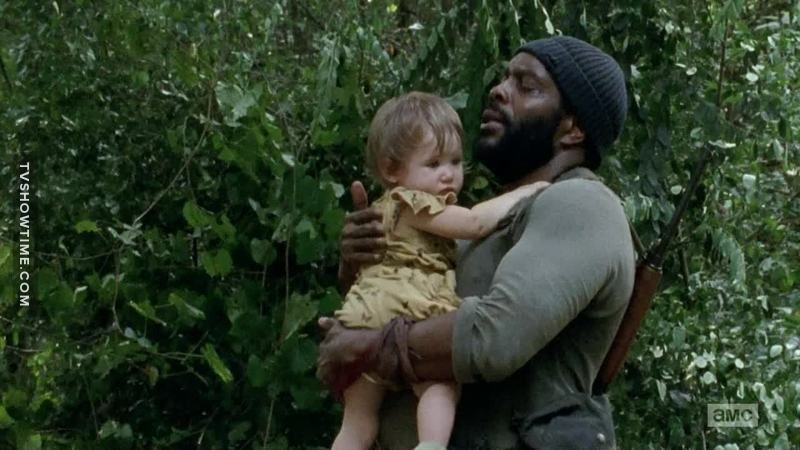 poor Rick and Carl... they think Judith is dead 😢
