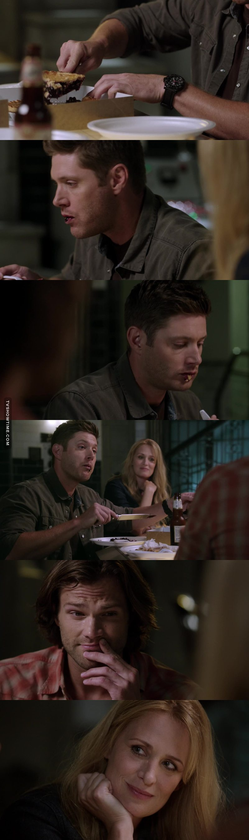 Dean and Pie omg 😂