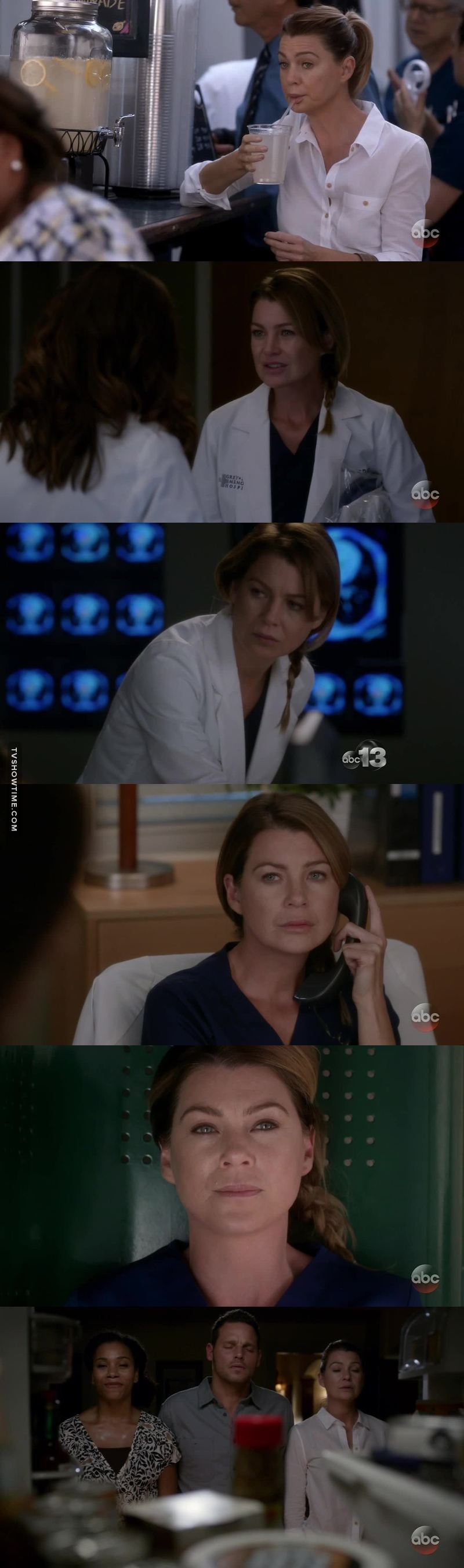 This felt very classic Grey's to me. Meredith was classic Meredith this ep to me. I enjoyed this episode SO MUCH. & I looooove angry, crazy & hilarious Meredith.