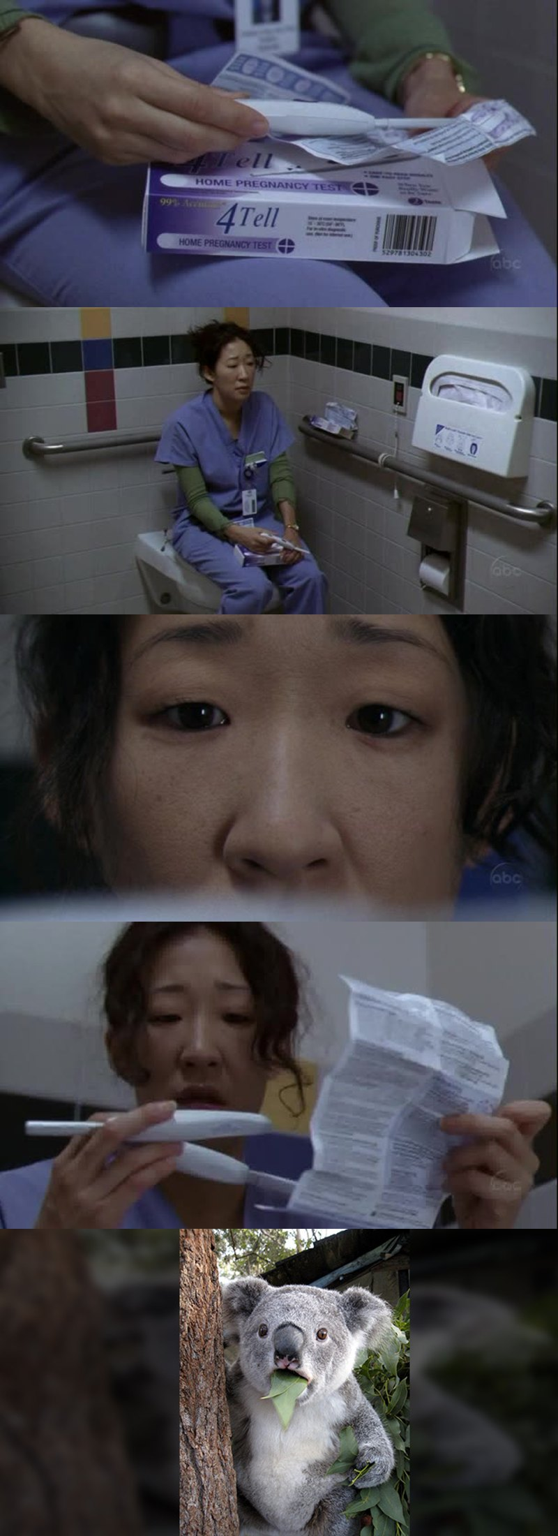 Holy shit! Are Cristina pregnant? Oh my god! So what happens now?? She can't work in the hospital pregnant and worst, pregnant of the boss!