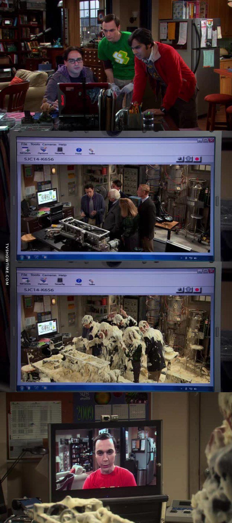 Sheldon's revenge 😂😂😂