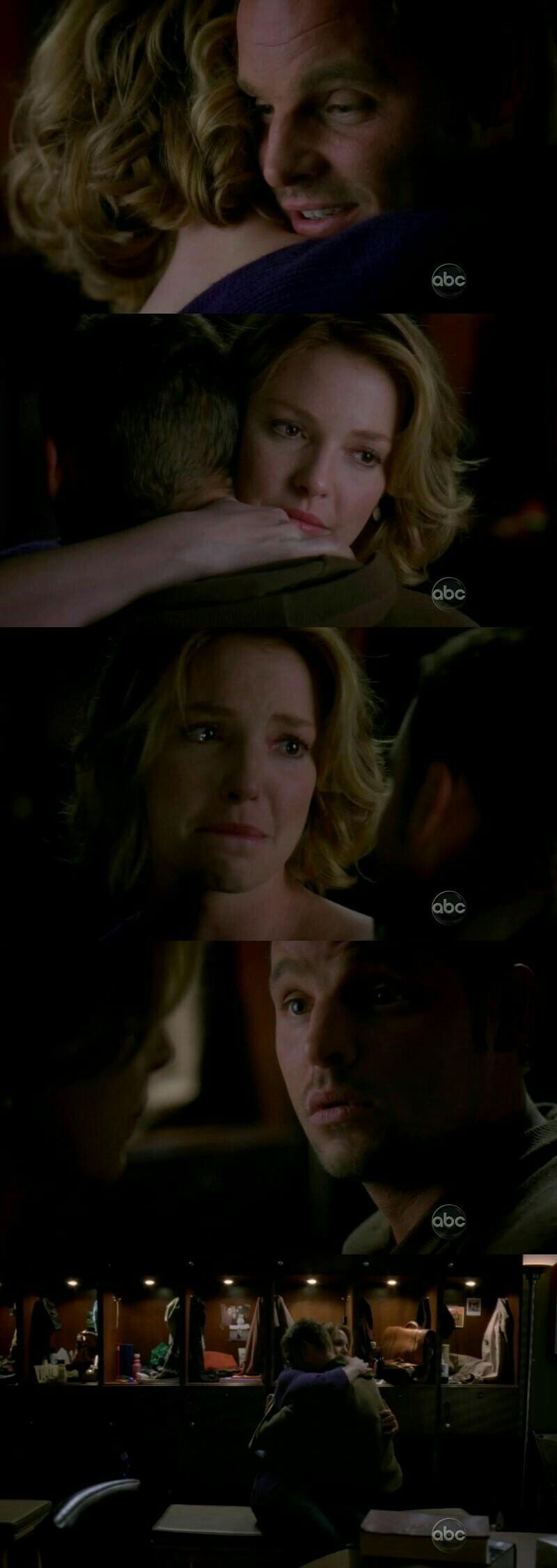 Eu sinto uma falta monstruosa dela.  Minha personagem favorita foi embora e quebrou meu coração.  Izzie,  com tantas lições e uma otima médica.  Sentirei saudades eternas.