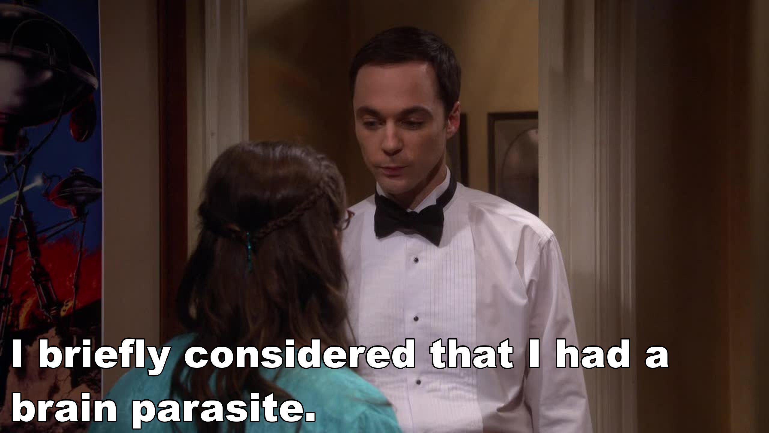 Sheldon is the most romantic guy ever!