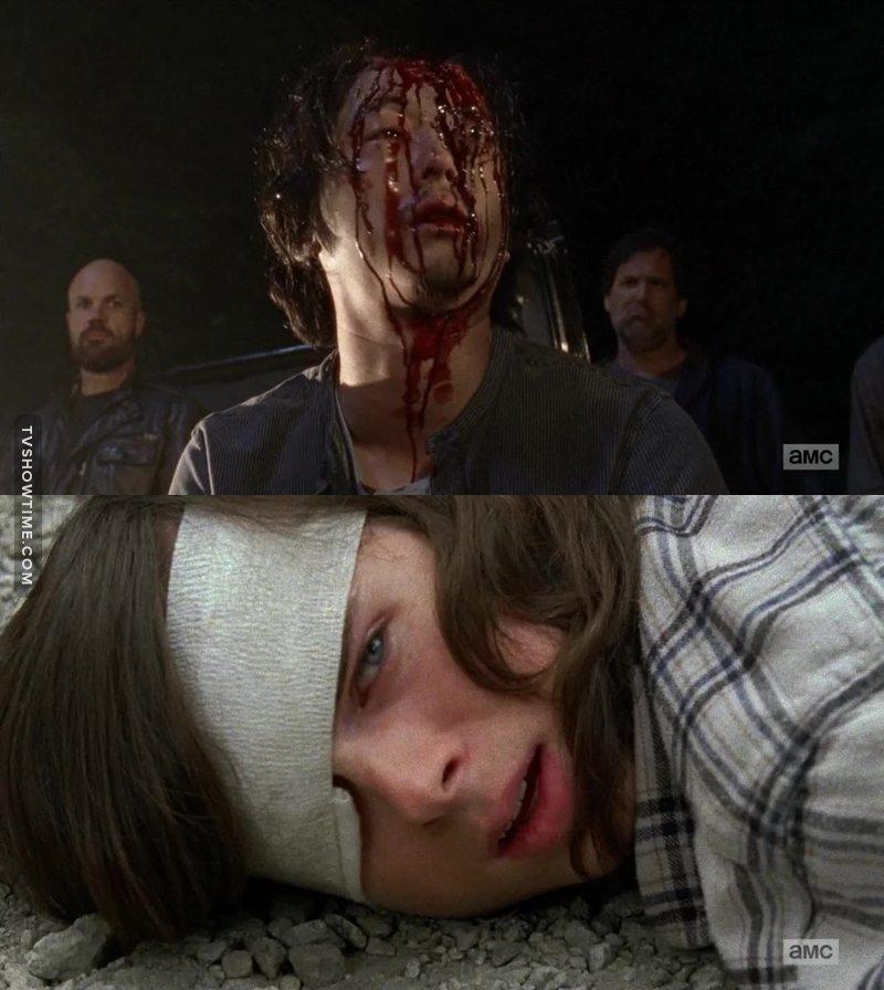 Il aurait dû donner l'œil de Glenn a Carl, enfin je dis ca je dis rien 😇