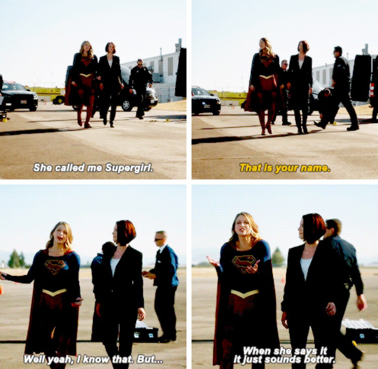 Supergirl fangirling is the absolute best haha!!