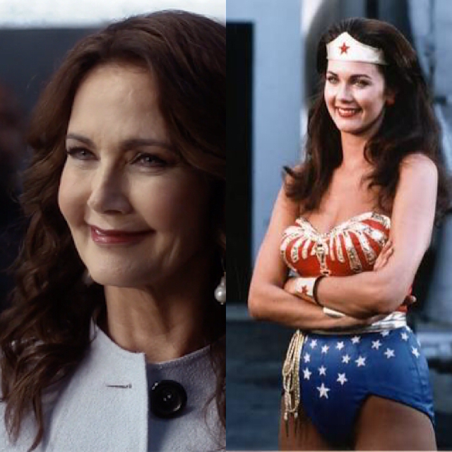1st Wonder Woman now as President..