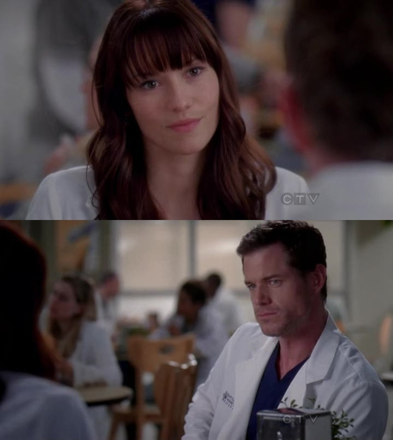 I miss Mark and Lexie! They were perfect!