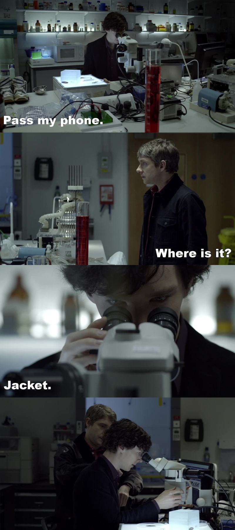 Sherlock uno di noi.