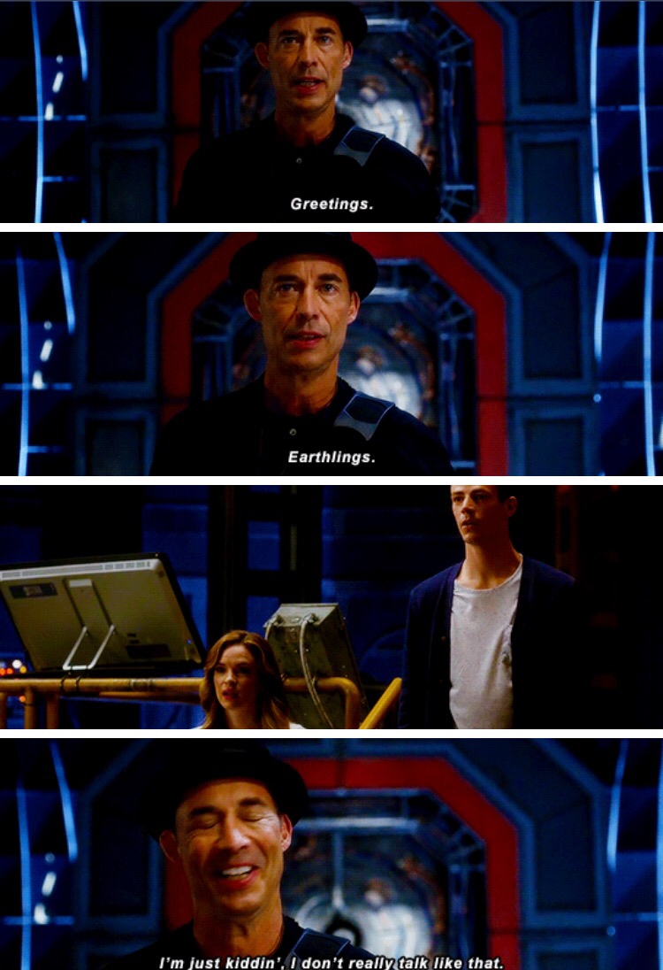 Tom Cavanagh is amazing!!! Wells from earth 2 will always be my favorite.  But I'm in love yet with this one ❤️
