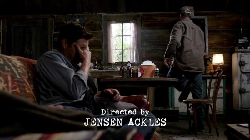 Directed by Jensen Ackles! Wow!