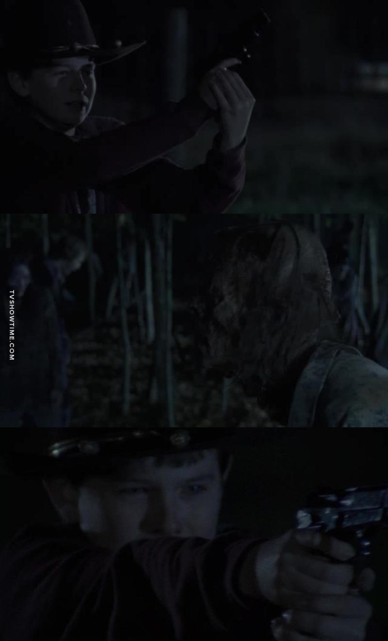 Carl shoot better than Andrea