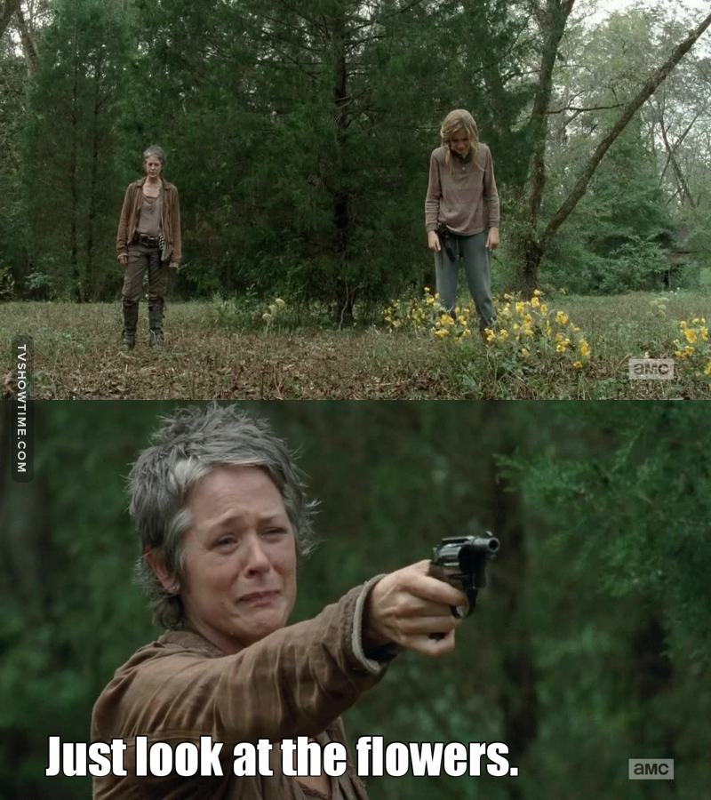 carol has become so brave it was so sad but it was the best thing to do :(