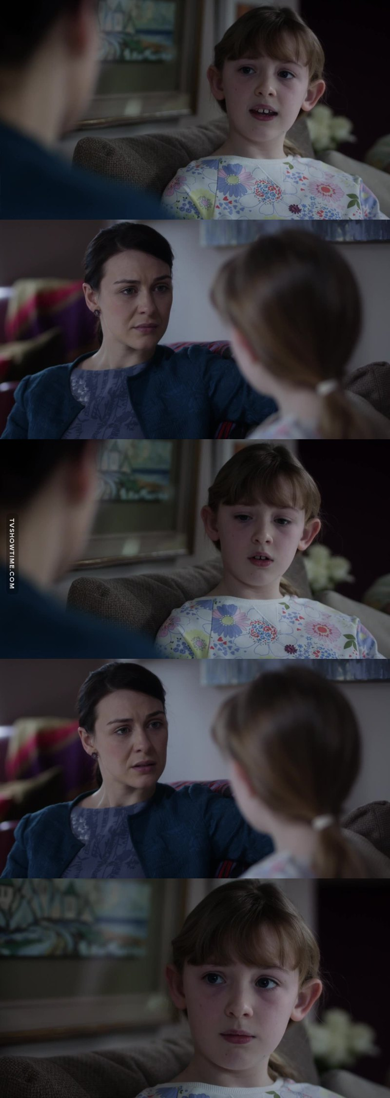 - How do you feel about your daddy right now, Olivia?  - I love him. - But? - I don't think I'll go see him for a while. - How long do you think before you'll see him again?  - When I'm grown up I might. Or if I have a baby. If I have a baby, I might go take her to see him 💔❤️