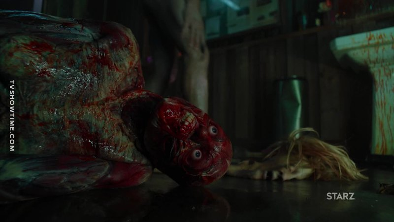 Toutes ces scènes d'écorchement sont juste DÉ-LI-CIEUX  😝   Dans cette nouvelle saison la réal' et la mise en scène sont juste hemoglobinement fun !