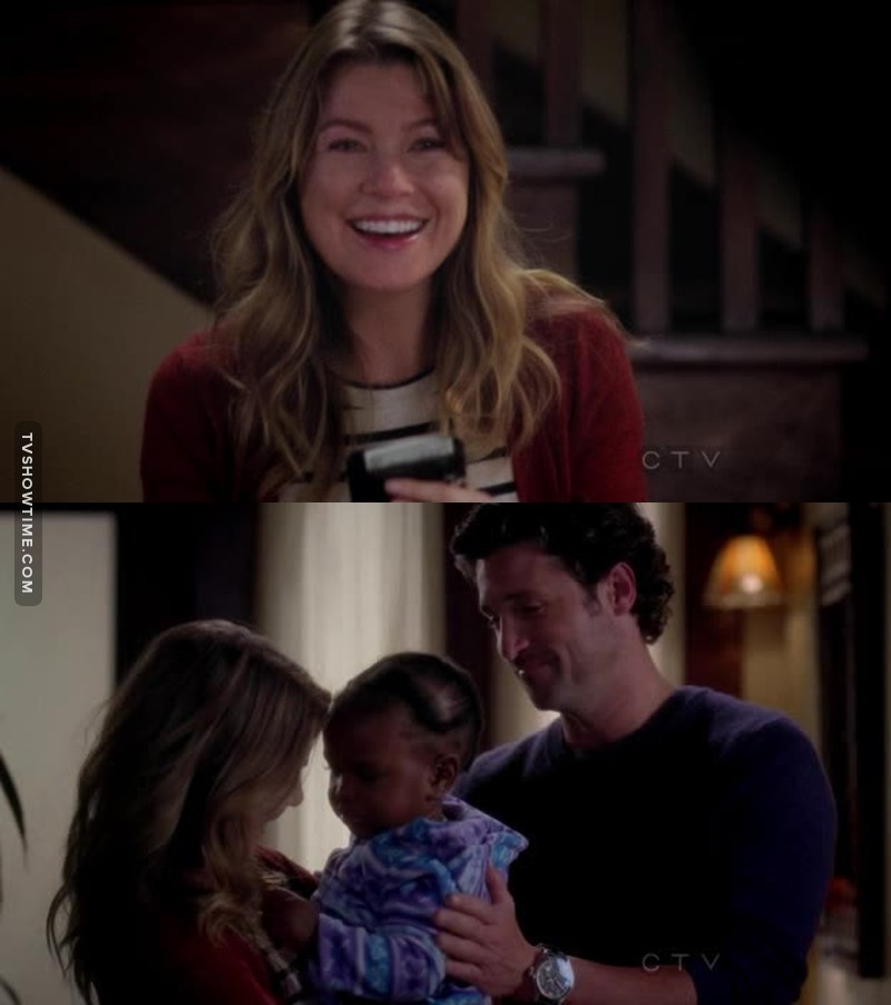I have never seen Meredith that happy, what a beautiful moment 😍