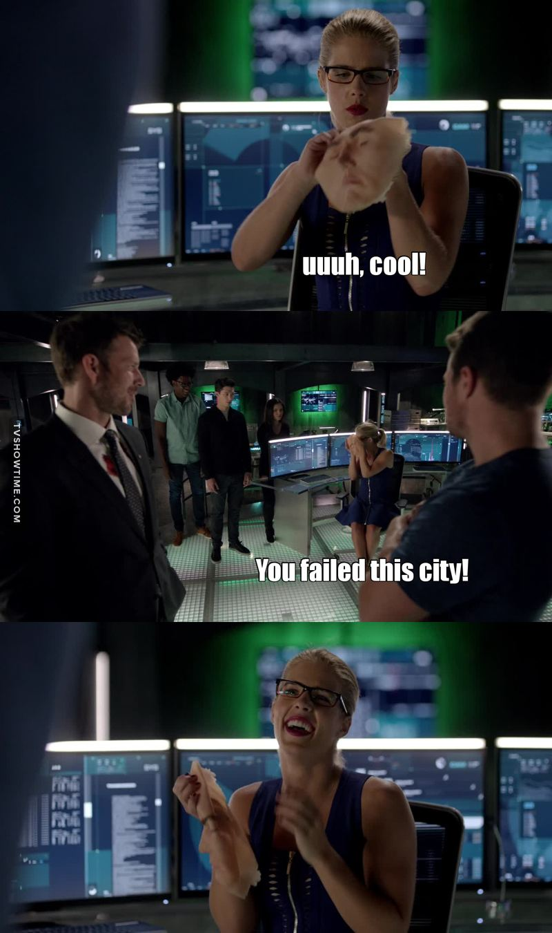 Felicity, you're always the same 🙈