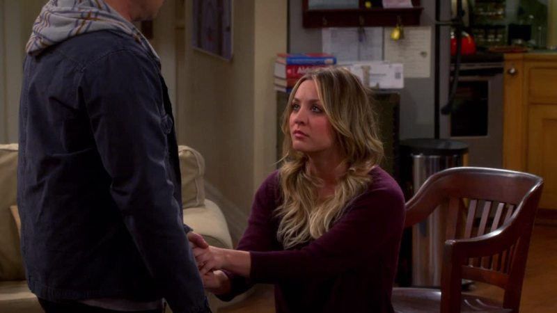 Penny on one knee.. I can't believe it that Leonard didn't say yes