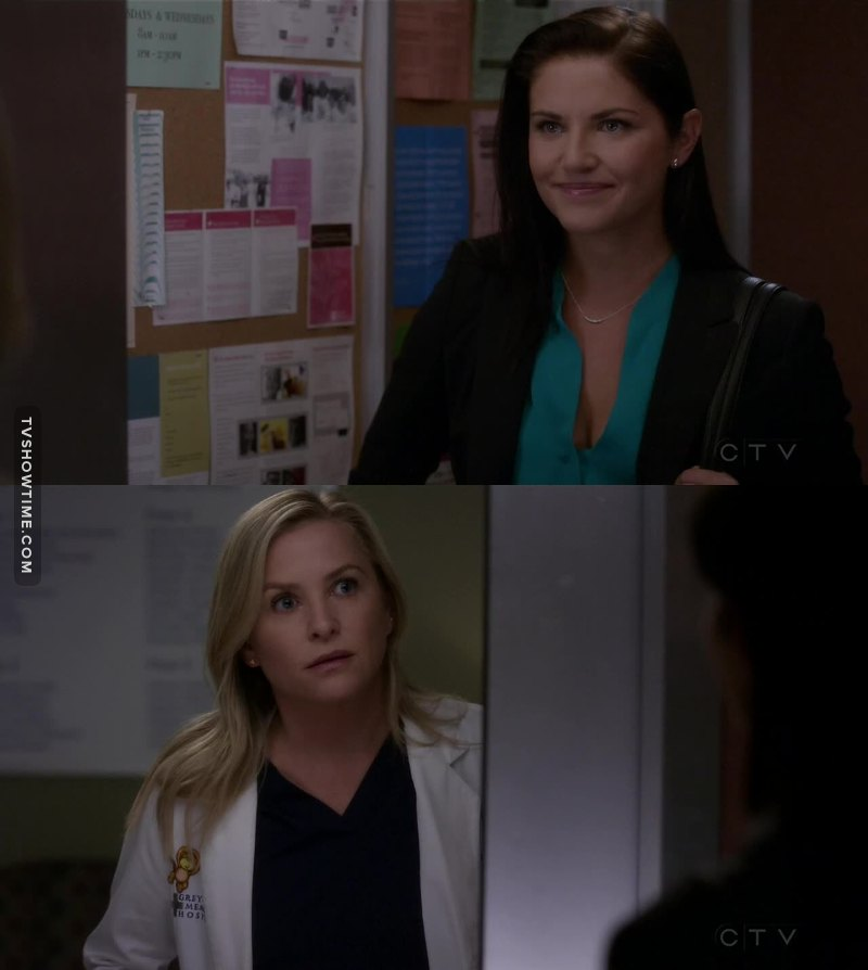 """That name attached to that face? No, that's not one you forget.""   Arizona's face was totally me 😂😂😂"