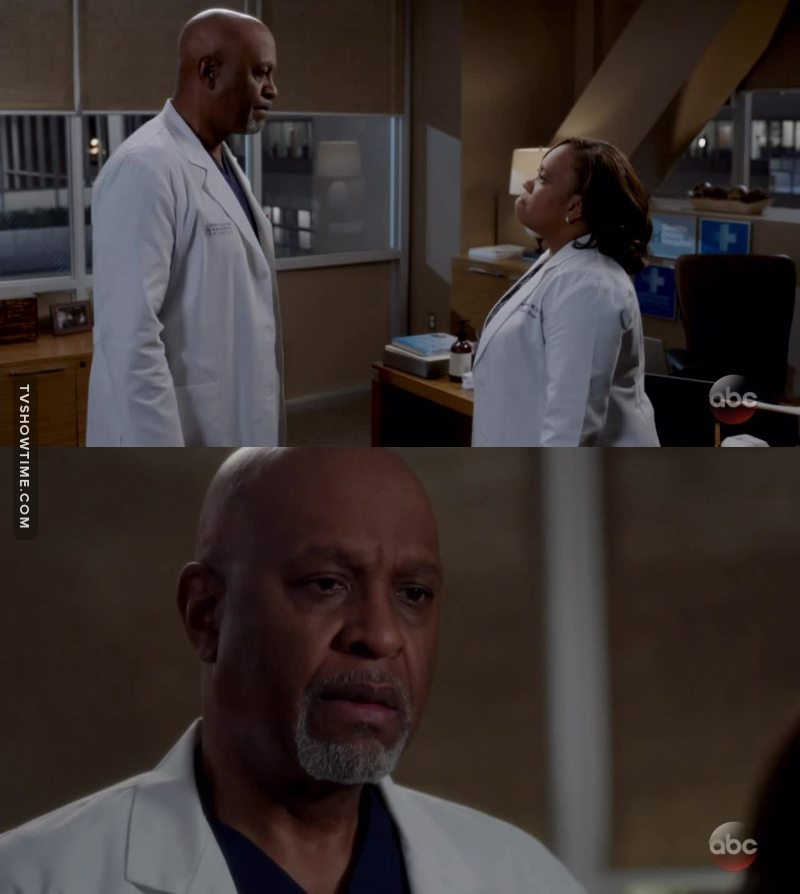 So nobody is thinking about doc Webber?!?! He built this hospital with blood sweat and tears!! And now bailey is ready to replace him with this new doctor who endangers patients like that?! That's crazy, she should be grateful, if it wasn't for him, she wouldn't even be the chief. This is not the Grey's Anatomy I used to know.