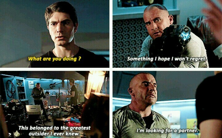 I'm was emotionally not prepare to this and definitely not okay with, no one can replace Snart 💔