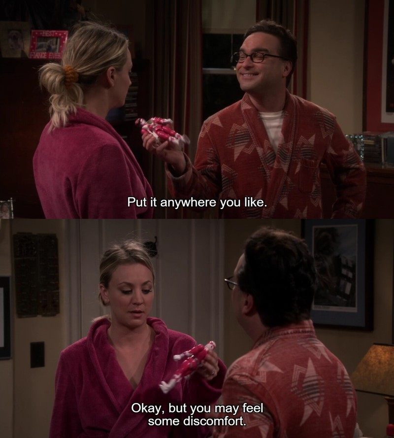 Ahahahahaha! Penny in this season made me laugh a lot! I love her!