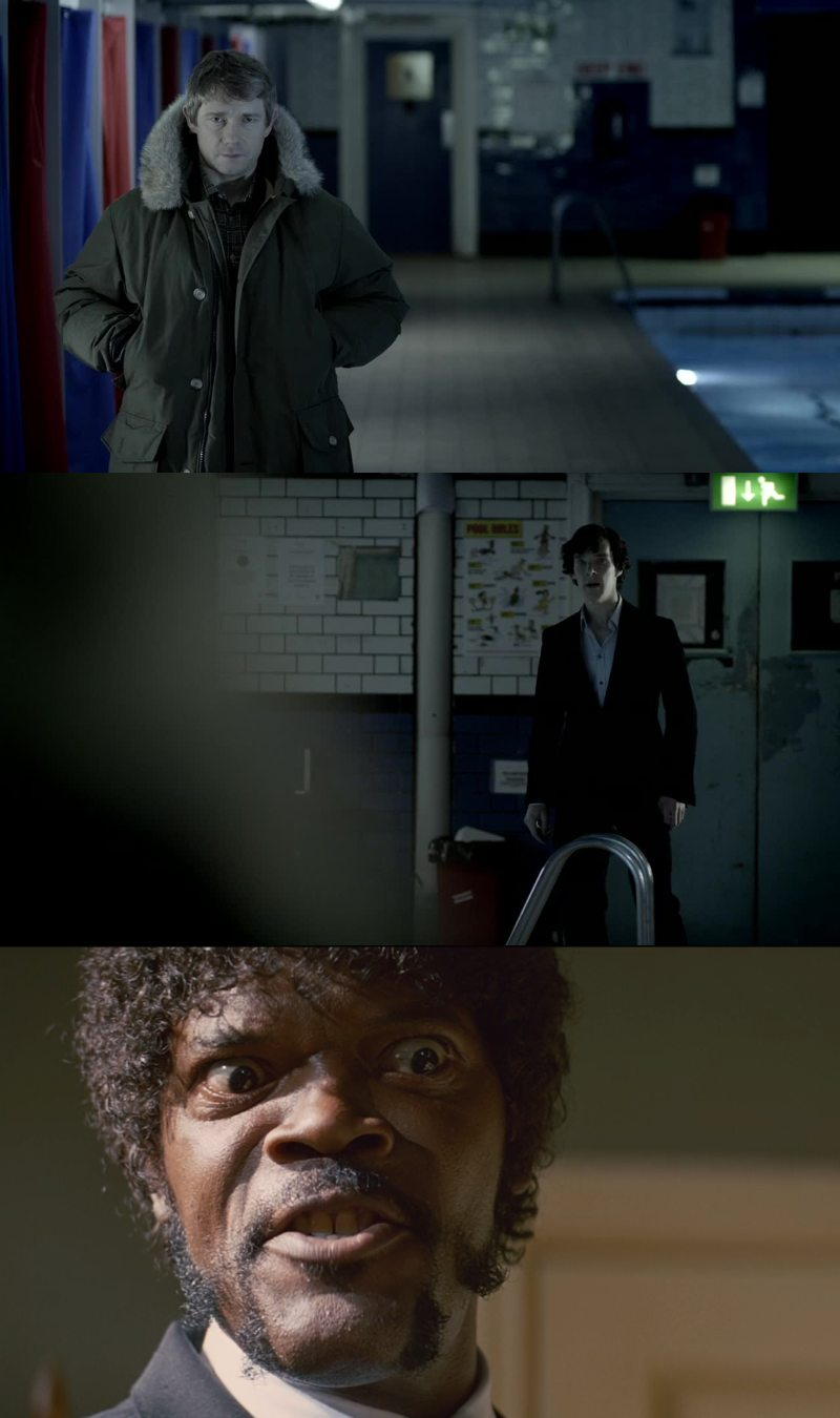 For just a few seconds I thought that Watson had betrayed Sherlock.. Just a second or two. What a relief!