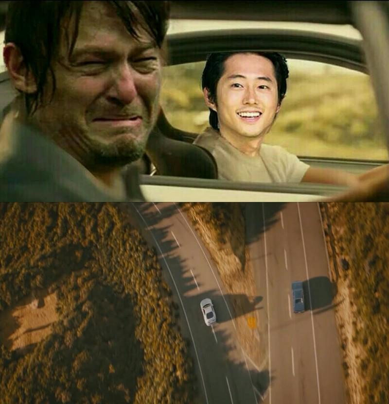 Daryl feelings probably...