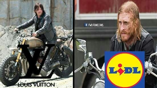 La différence entre Daryl et Dwight 😍😂