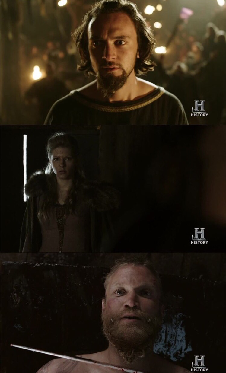 I feel sorry for everyone in this episode  For athlestan that everyone wanted him to be sacrificed  Lagertha since Ragner would do anything to have a son even cheat on her  And Leif cause he was sacrificed :(