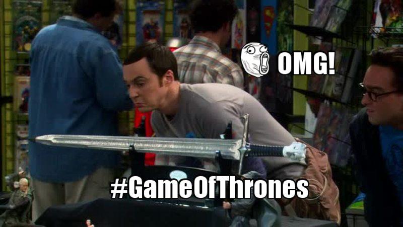I want the Jon Snow's sword! I really want it! haha