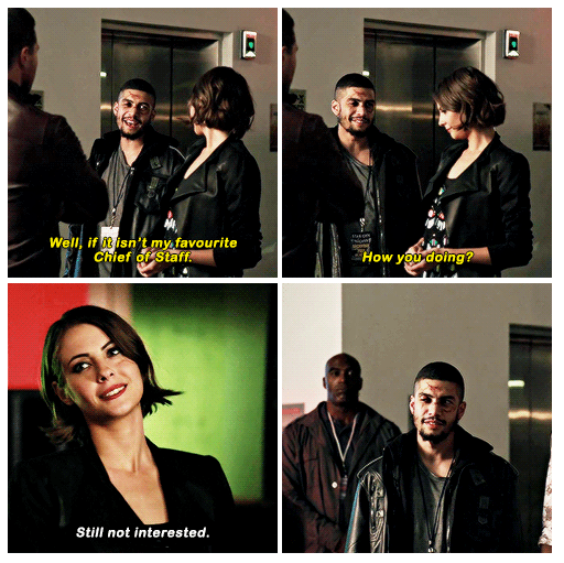 unarguably one of the best parts of this episode. thea queen never disappoints. (source: http://arrowsource.ca/post/152978730151)