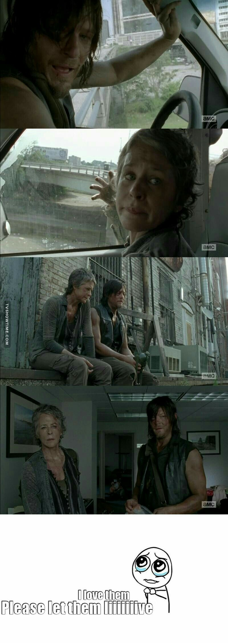 Daryl - Carol ❤