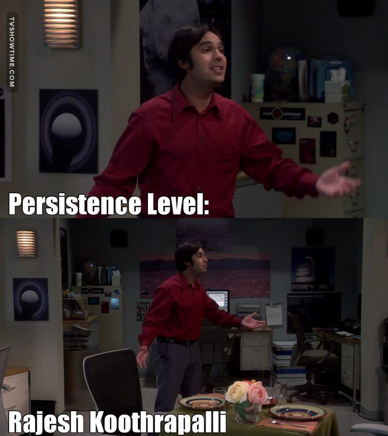 New persistence level unlocked! 🎉🏆