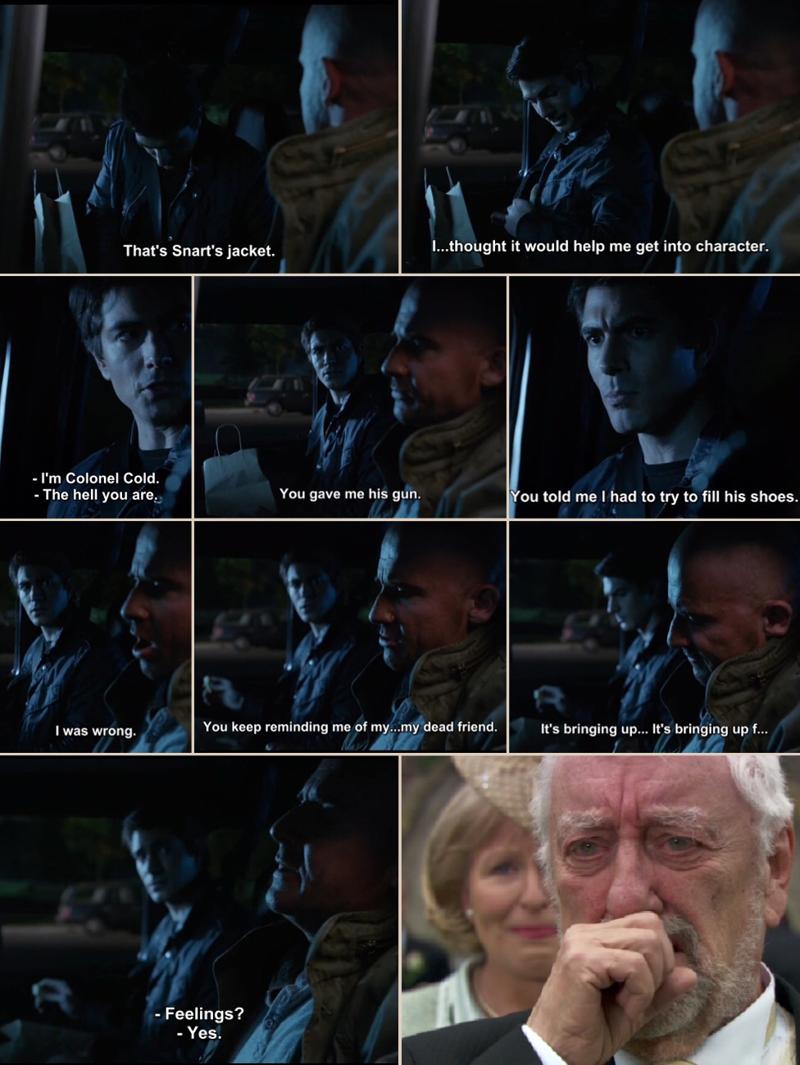 I really felt bad for Mick in this scene.😔