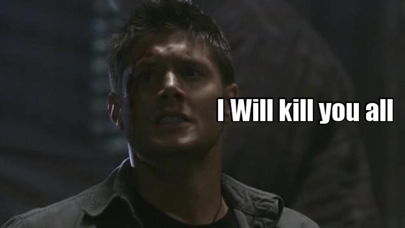You hurt my brother , I'll Kill you , I swear  I'll Kill you all  Ps : I need a brother like him