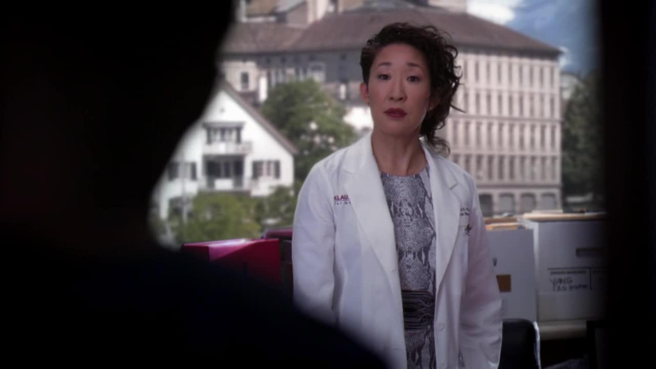 I will miss her way too much :'( Cristina, you are OUR person!!! :(