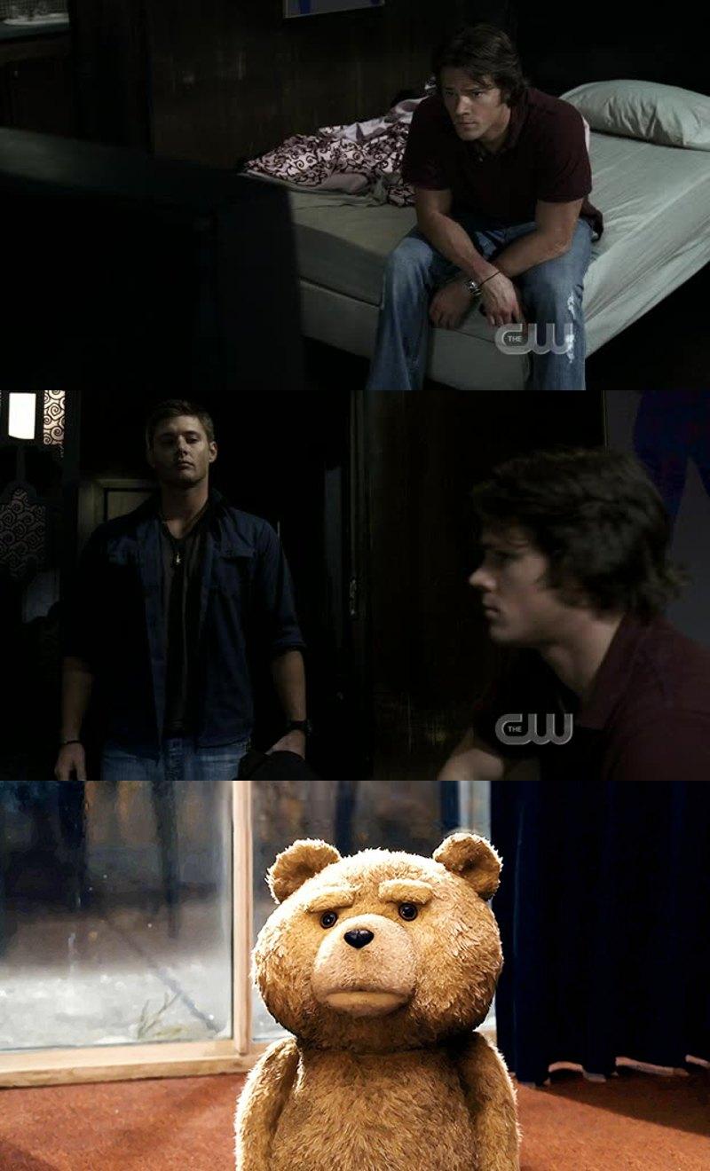 Sam qu'étais-tu en train de faire ?!
