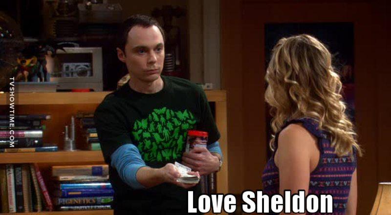 Sheldon pode se parecer mais com um robô do que com um humano, porém, mesmo insconscientemente, ele tem um coração maravilhoso, puro e inocente....além de fazer a série ser mais cheia de graça ❤❤ #IloveSheldon